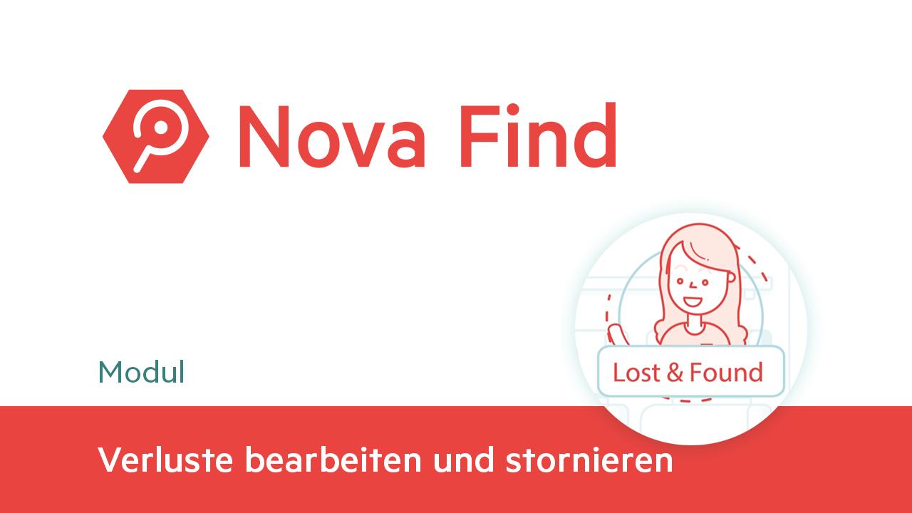 Novafind Tutorials Thumb 30 Verluste Bearbeiten Und Stornieren DE