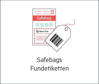 Safebags und Fundetiketten